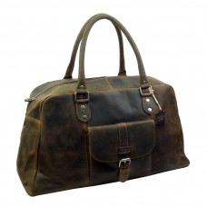 Premium Leather Sports Bag /Weekender ''Unisex''