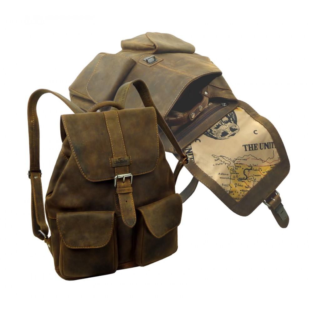 Handmade Leather Bag ''Unisex''