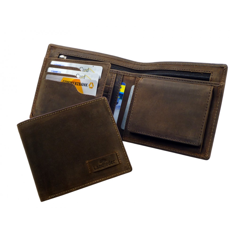 Leather Wallet ''Old Timer''