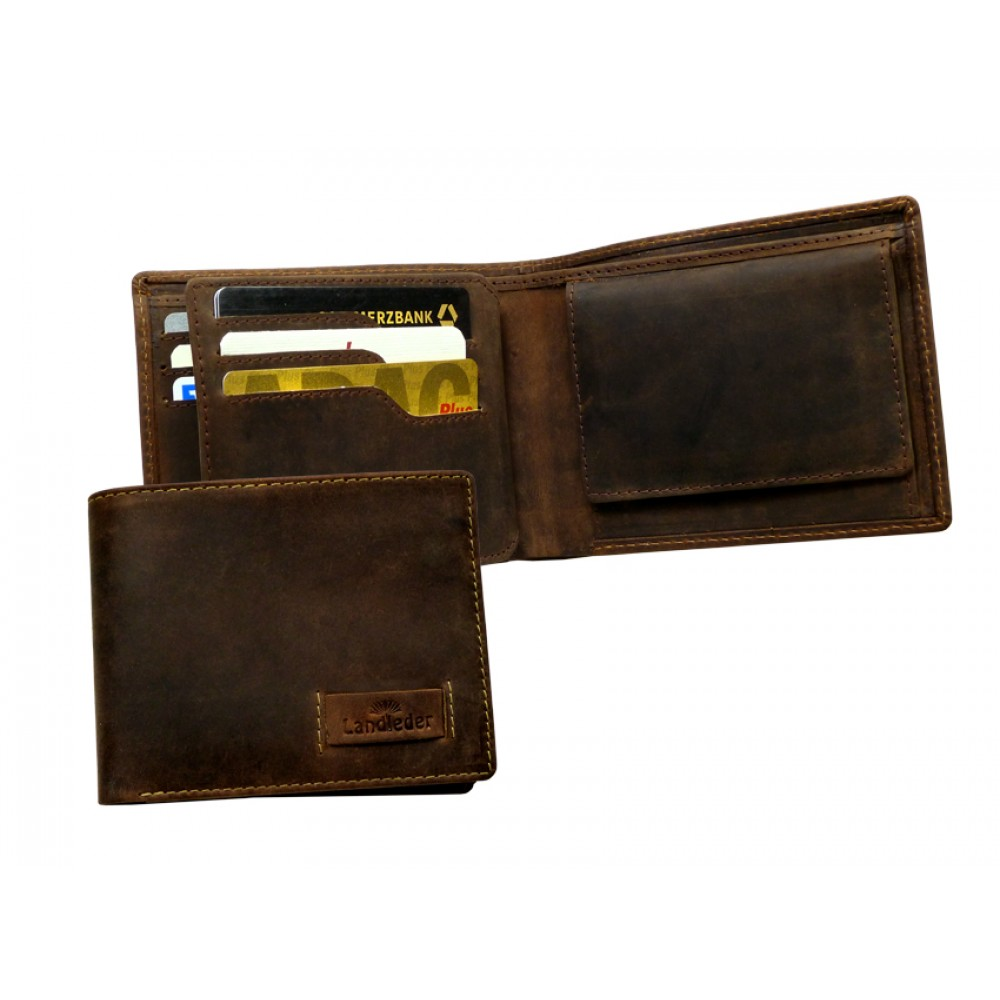 Premium Leather Wallet ''Old Timer''
