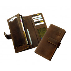 Handmade Leather Wallet ''Old Timer'' Series