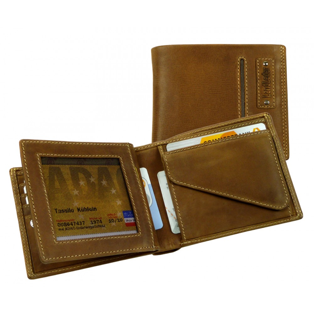 Handmade Premium Leather Wallet from Cadenza Series