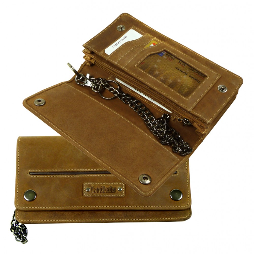 Handmade Bikers Wallet from Cadenza Series