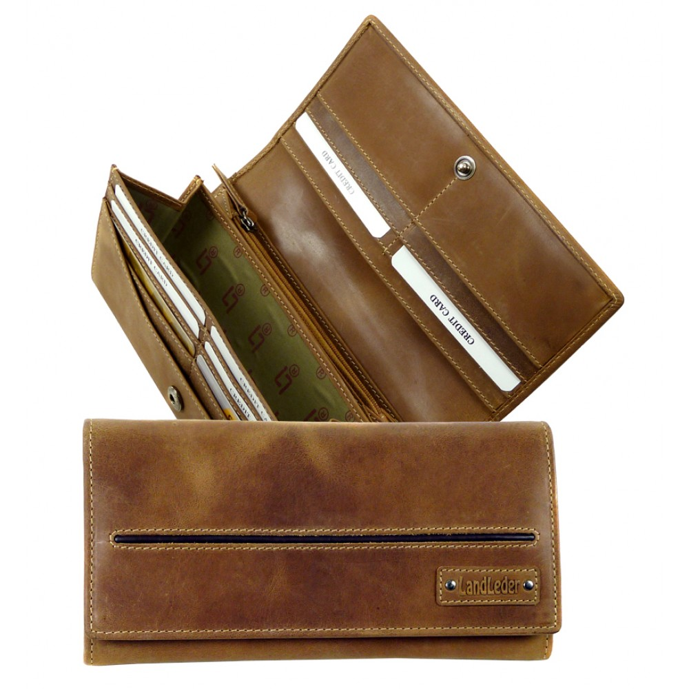Handmade Leather Wallet from Cadenza Series
