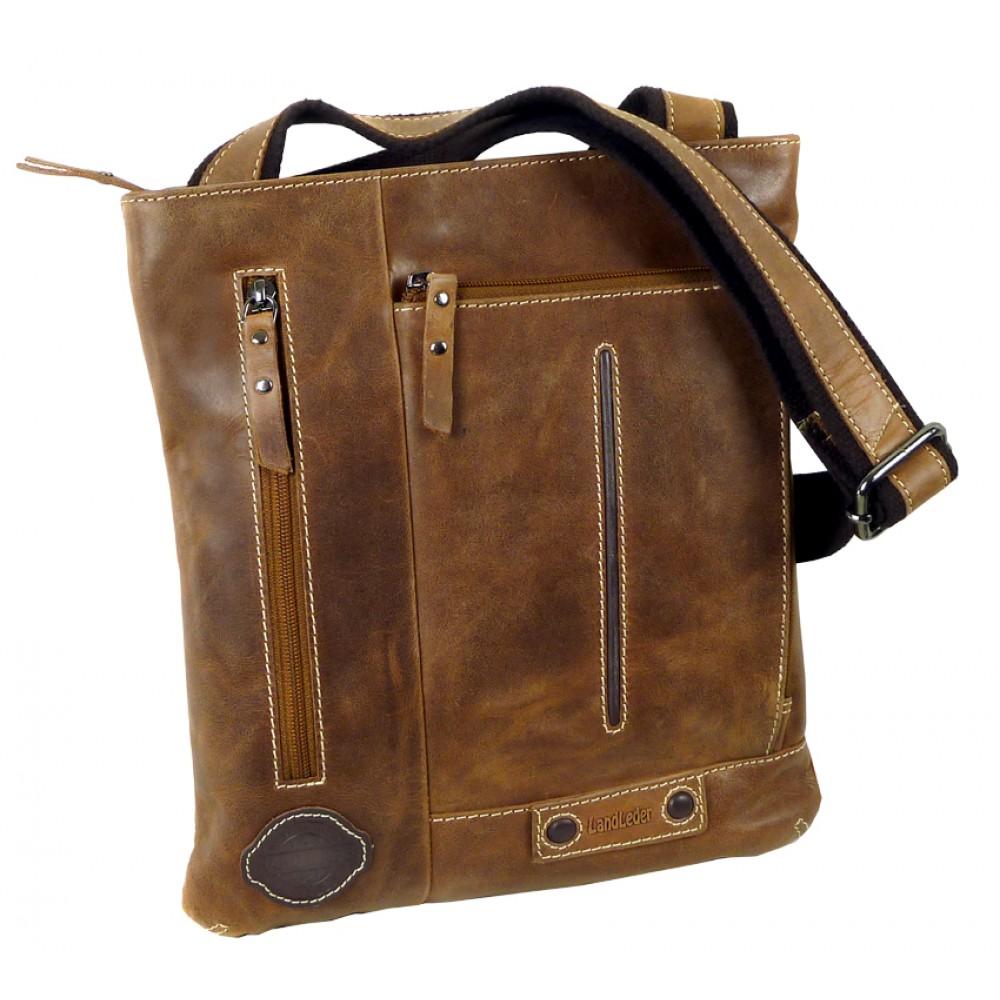 Handmade Leather Cross Bag from Cadenza Series