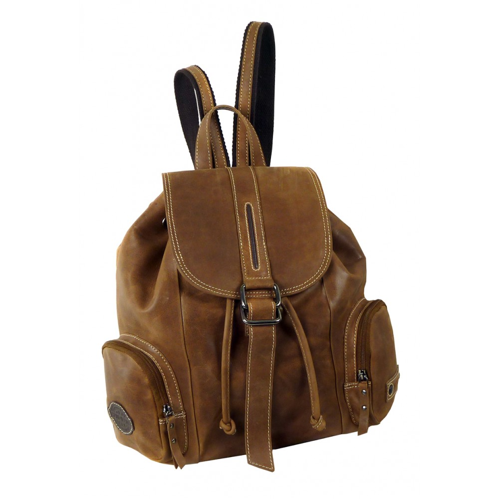 Handmade Leather Backpack ''Unisex''
