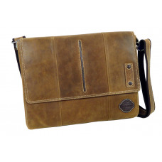 Handmade Leather Business/College Bag from Cadenza Series