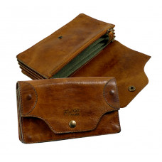 Handmade Leather Wallet with a true Vintage Look ''Premio Series''
