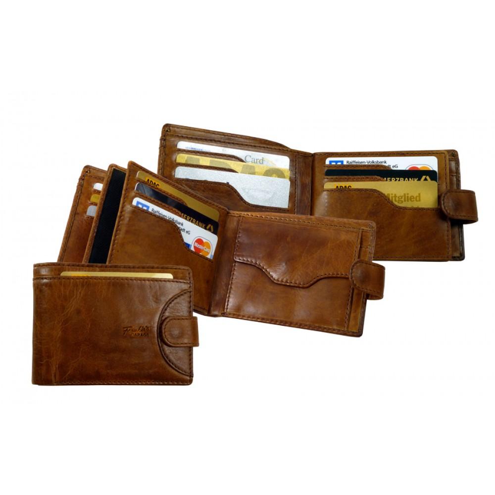 Handmade Leather Wallet ''Premio'' Series