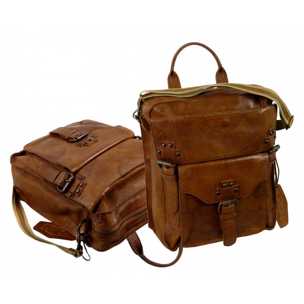 Premium Handmade Leather Bag from ''Premio'' Series