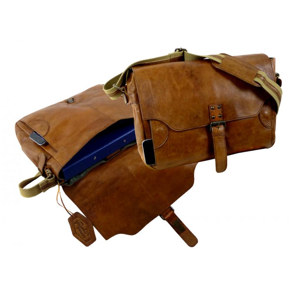 Handmade Casual Vintage Bag ''Premio'' Series