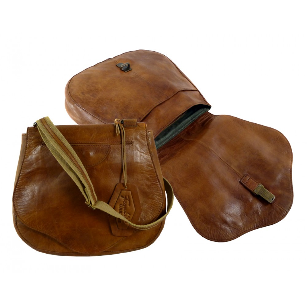Handmade Saddle Bag from ''Premio'' Series