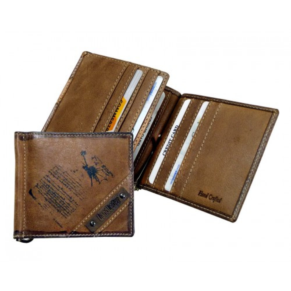 Money Clip / Clip Wallet ''DA VINCI'' Series
