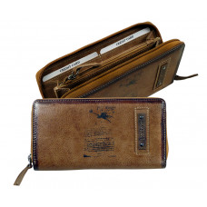 Handmade Leather Wallet ''DA VINCI''