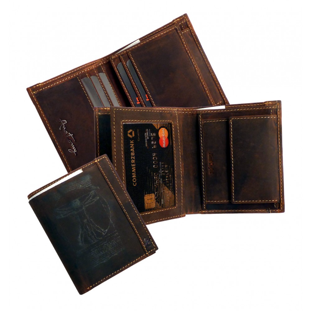 Leather Wallet ''Nirwana Series''