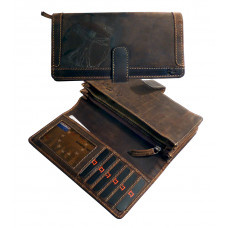 Handmade Leather Wallet ''Nirwana Series'''