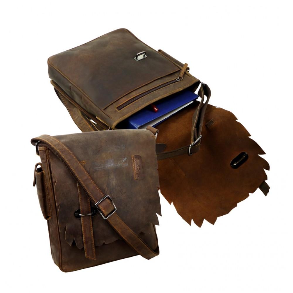 Casual Messenger Bag ''Wild & Vintage''
