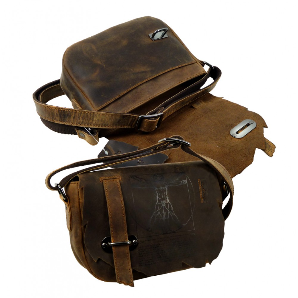 Casual Saddle Bag ''Wild & Vintage''