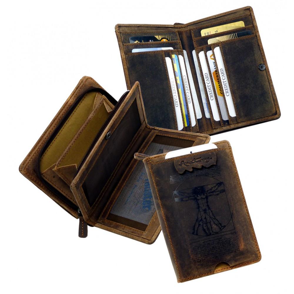 Smart Phone Combi Wallet ''Wild & Vintage'' Series