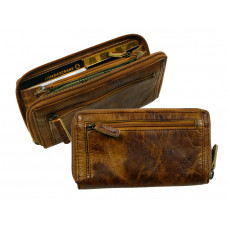 Handmade Rugged Leather Wallet Wild & Vintage
