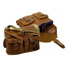 Handmade Rugged Leather Casual Bag ''Unisex''