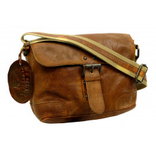 Handmade Casual Leather Bag ''Cowboy series''