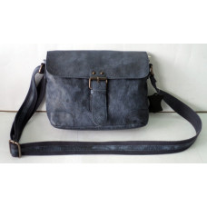 Handmade Casual Leather Bag ''Cowboy series'' Unisex