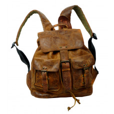 Handmade Leather Bikers Bag ''Unisex''