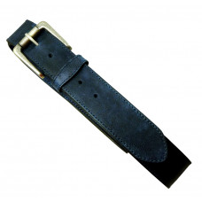 Leather Belt Rugged Jeans