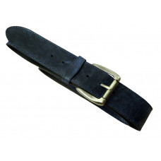 Leather Belt Rugged Jeans 'Cowboy Series''