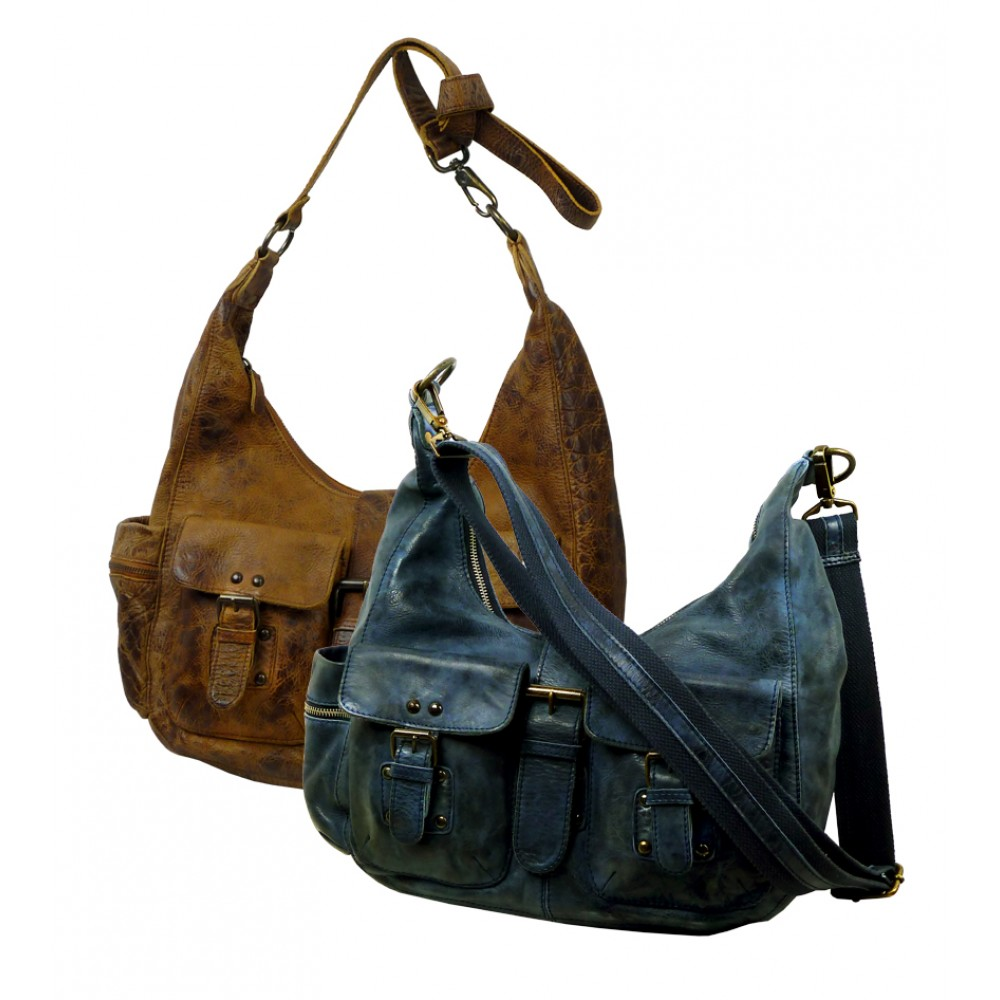 Casual Leather Bag ''Holiday Pouch''
