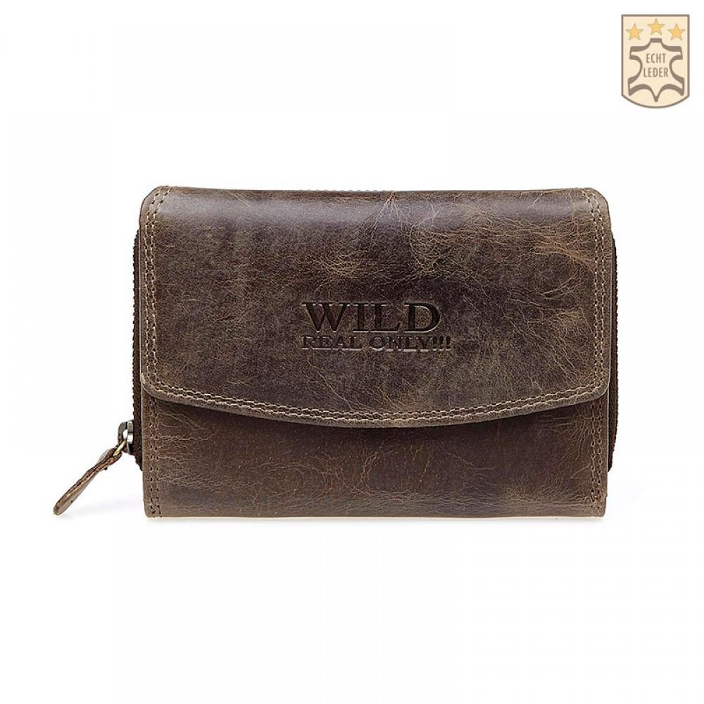 Handmade Leather Wallet Wild & Vintage Cabana Unisex
