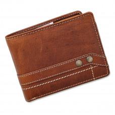 Handmade Leather Wallet Vintage Cabana Series