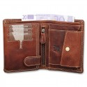 Handmade Leather Wallet Wild & Vintage Indiana Series