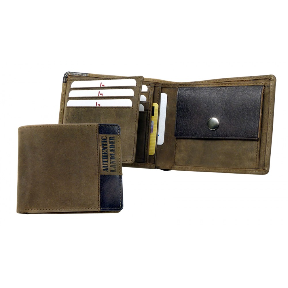 Handmade Leather Wallet ''Wild Series''