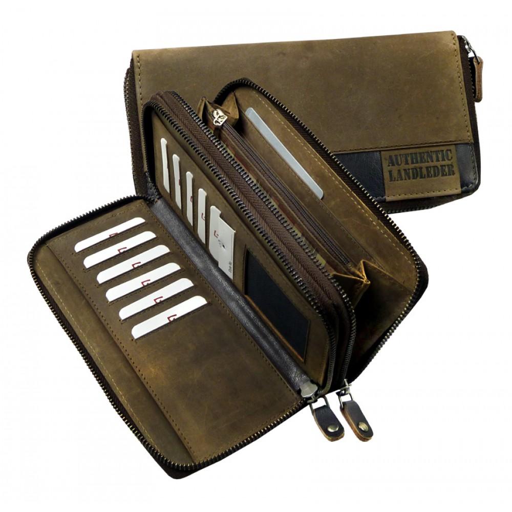 Leather Wallet ''Premio'' UNISEX