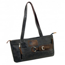 Raw Leather Casual Bag ''Sofia''