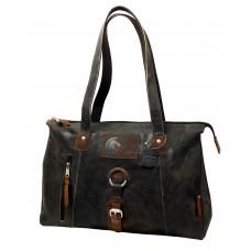 Raw Leather Casual Bag ''Urban Spirit''