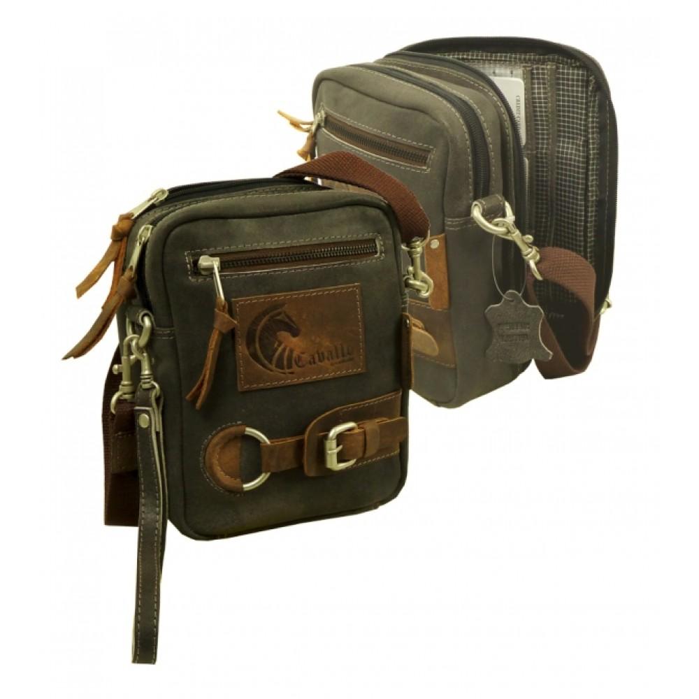 Raw Leather Casual Mini Bag ''Unisex''