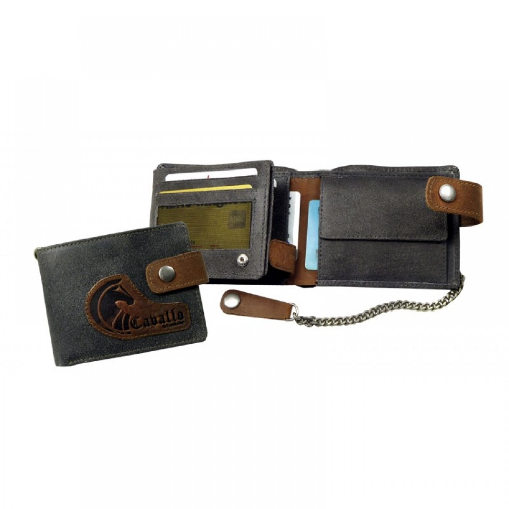 Raw Leather Wallet ''Naveena''