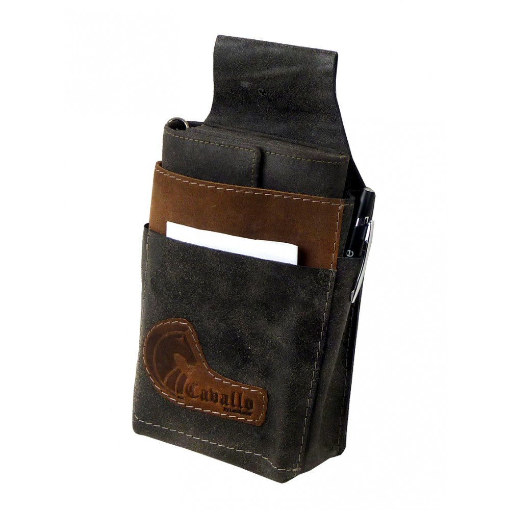Raw Leather Waiter´s Bag / Holster
