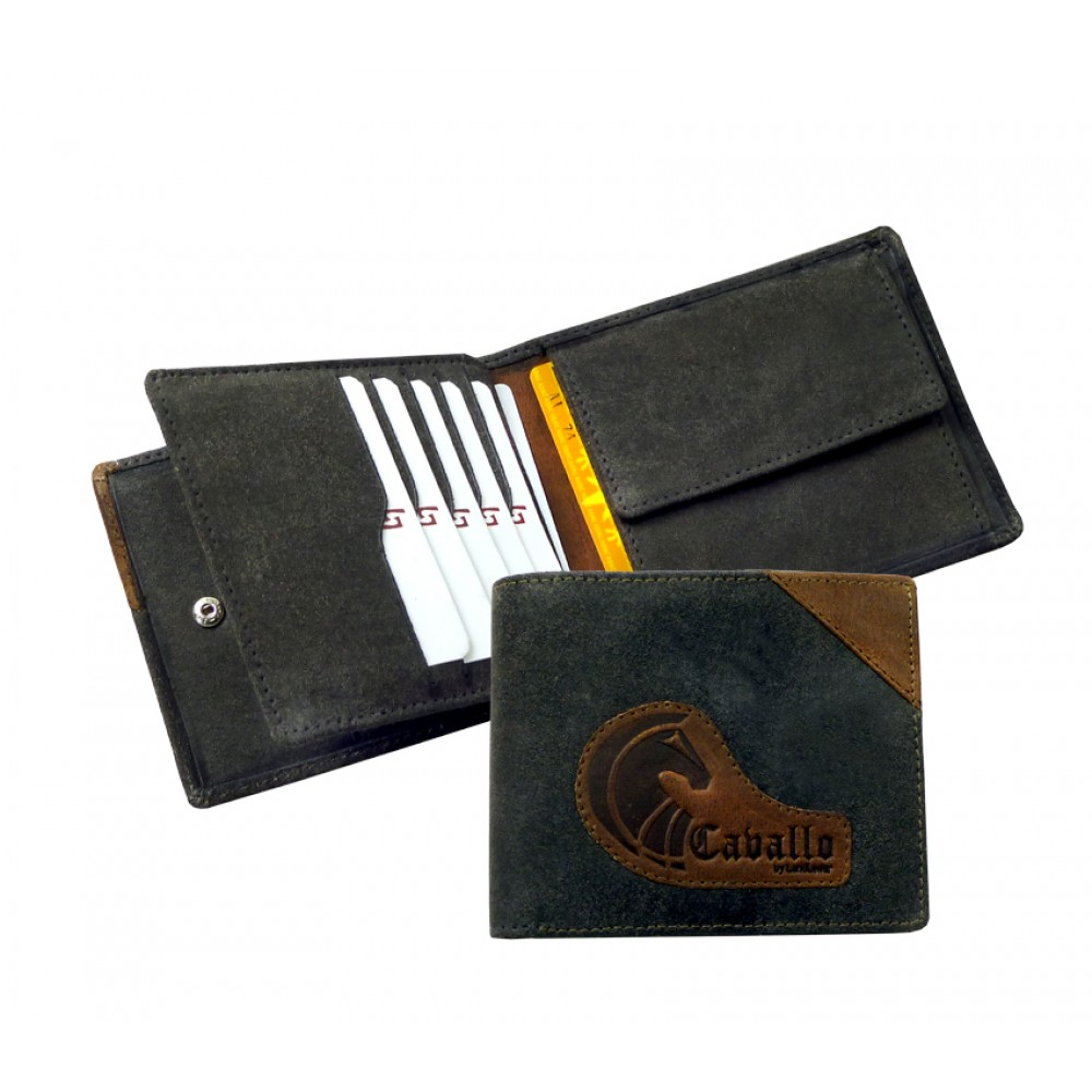 Raw Leather mini Wallet ''Naveena''