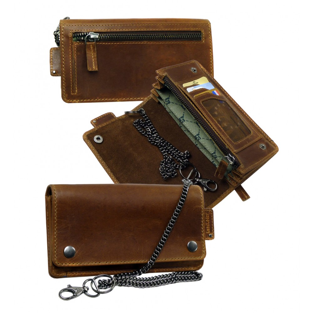 Handmade Bikers Wallet ''20´s'' Series