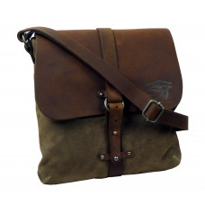Handmade Raw Leather Bag ''Casual Walk''