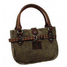 Handmade Leather Hand Bag ''Shopping Queen''