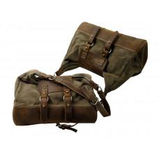 Handmade Leather Sports Bag / Travel Bag ''Weekender''