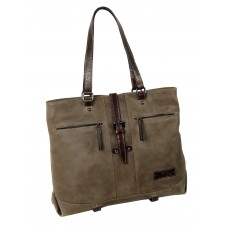 Casual Leather Bag ''Shopping diva''