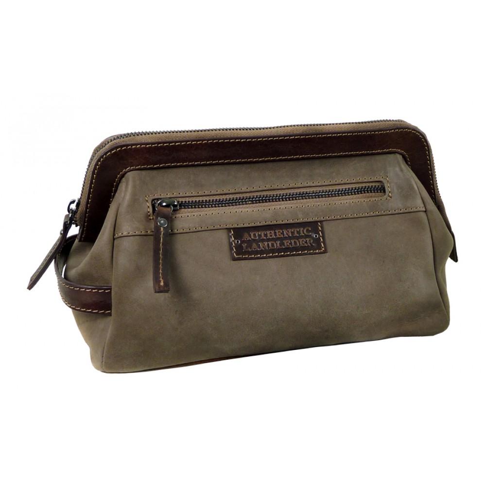 Handmade Leather Toilet Bag ''Executive''