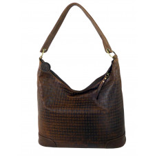 Casual Woven Leather Bag ''City Life''