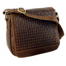 Handmade Casual Woven Leather Bag